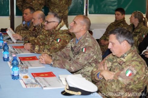 Conferenza degli uomini del contingente italiano