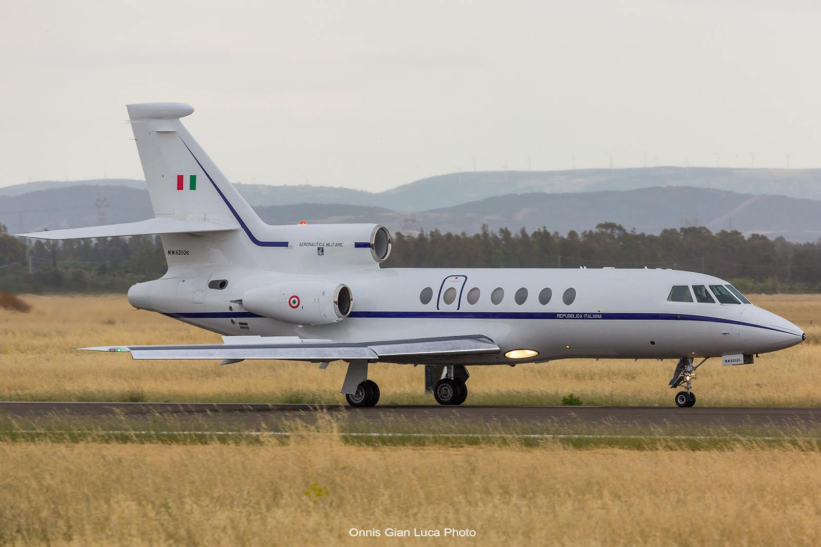 Falcon 900 del 93° Gruppo Volo - Ph. Onnis Gian Luca