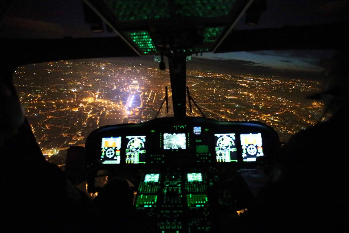 Elicottero Interno : Interno del sikorsky elicottero british international airways
