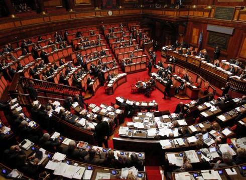 L'Aula del Senato - immagine di repertorio