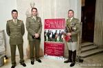 Da sinistra: serg. Emiliano Portale, ten. col. Emanuele Patalano, cap. PaoloMezzanotte