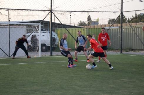 Partita di calcio a cinque CSS BN - Media locali