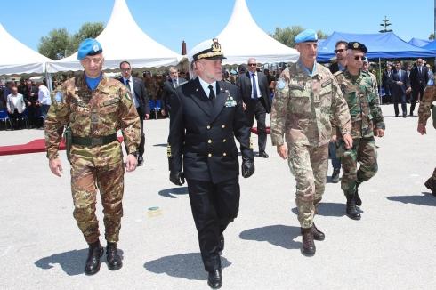 generale POLLI, ammiraglio BINELLI MANTELLI, generale SERRA