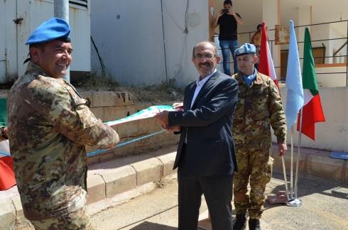 Inaugurazione lampioni ad energia solare a Ramyah