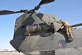 CH-47 in fase di manutenzione