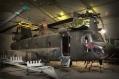 CH-47 in fase di smontaggio