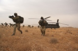 Sbarco di truppe da CH-47
