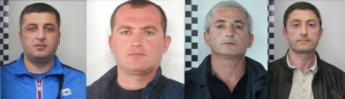 georgiani arrestati