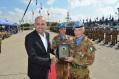 Il generale Polli riceve la cittadinanza onoraria di Shama