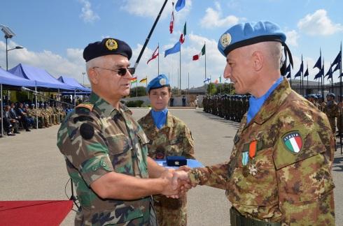 Il gen. Polli riceve la Lebanese Honor Medal