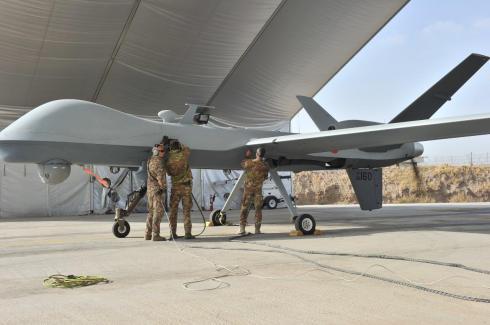 Il Predator a Herat - Afghanistan