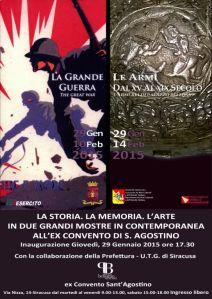 Manifesto_Mostra Grande Guerra_Siracusa
