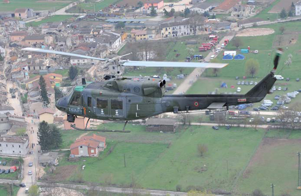 Elicottero Ab 212 : Sardegna peschereccio affondato in volo elicottero