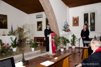 Padre Pier Luca Bancale, gen. Antonello Falconi
