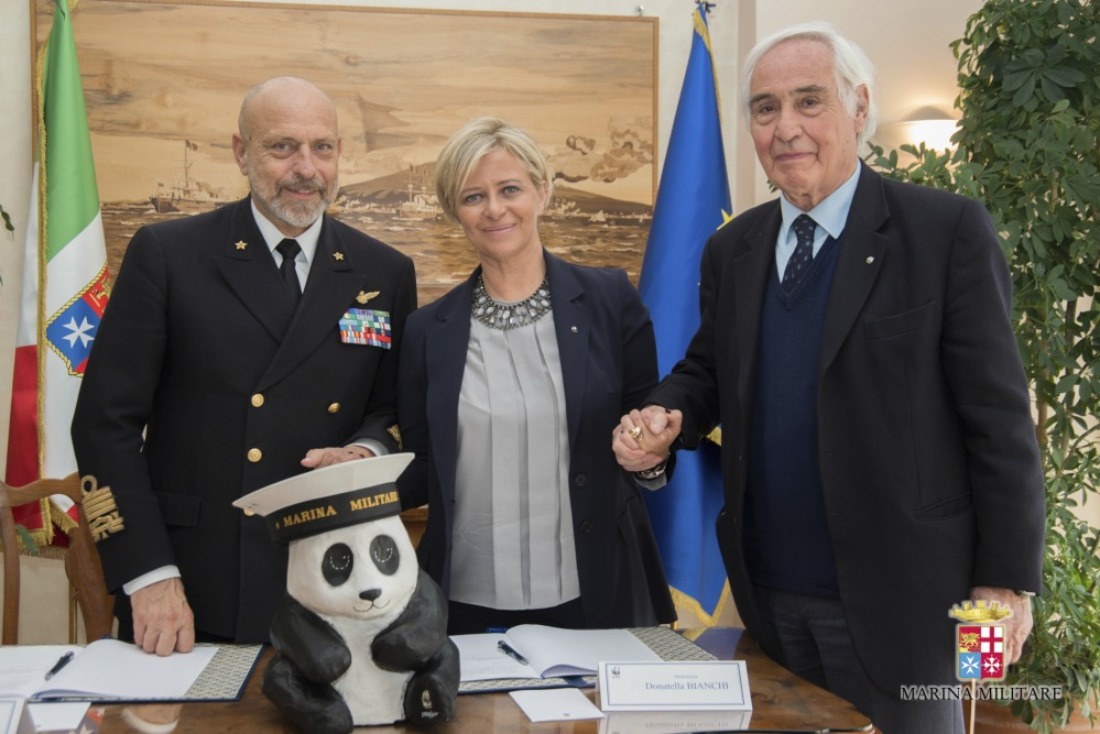 Marina militare: firmato l'accordo con il WWF (3/3)