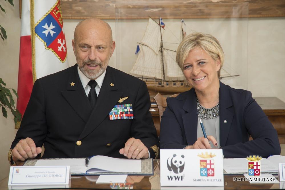 Marina militare: firmato l'accordo con il WWF (1/3)