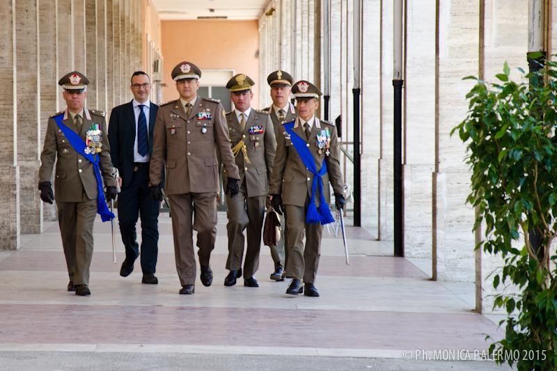 Nuovo comandante per la brigata Granatieri di Sardegna. Il colonnello Lunardo subentra al generale Riccò (1/6)