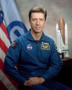 L'astronauta, colonnello Roberto Vittori