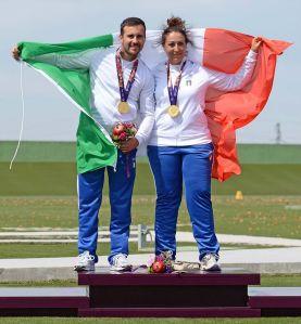 Valerio Lucchini e Diana Bacosi