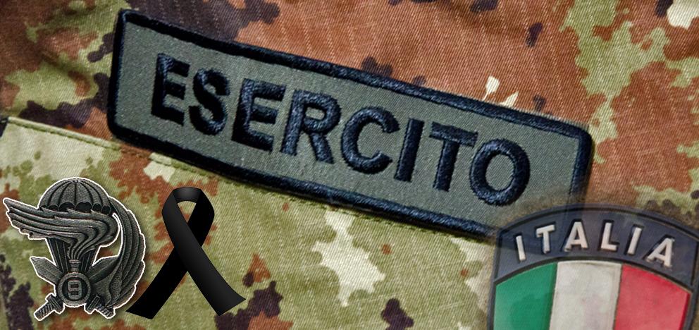 Muore parà Sergio David Ferreri del 9° rgt paracadutisti d'assalto Col. Moschin. Cordoglio del capo di SMD e del capo di SME (1/2)