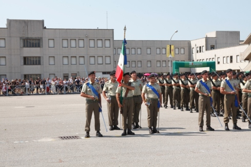 Bandiera di Guerra del 17° Rgt Acqui