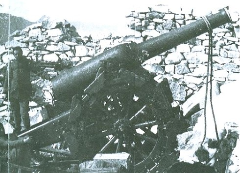 Il 149A il cannone dell'Adamello detto l'ippopotamo