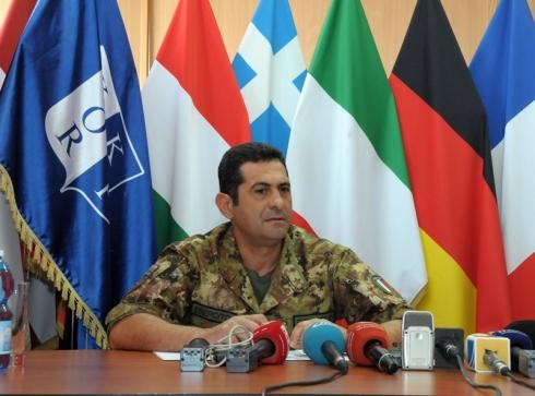 KFOR Commander MG Figliuolo