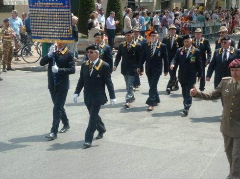 Un momento della sfilata del 23 giugno 2013 a Prato