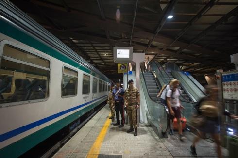 Operazione Strade Sicure - Stazione Tiburtina