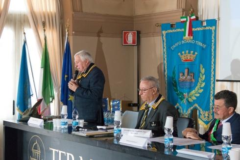 Il delegato regionale dott. Giordano Pochintesta