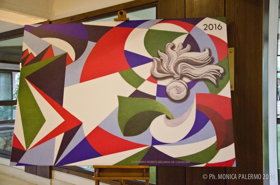 L'arte il leitmotiv del calendario dell'Arma dei Carabinieri 2016 (1/6)