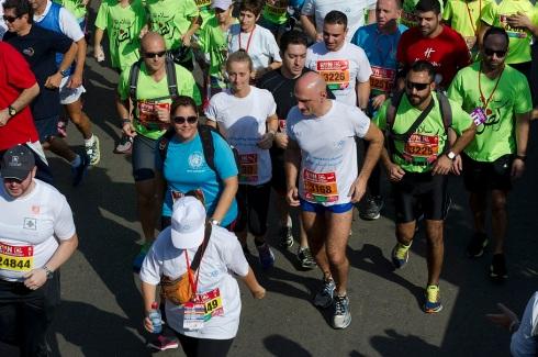 Il gen. Portolano alla Beirut Marathon
