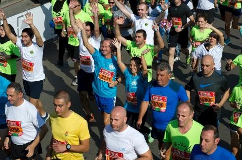 Peacekeepers alla Beirut Marathon