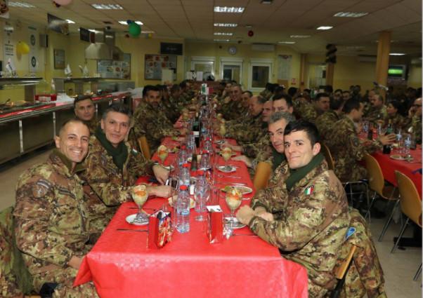 L'ordinario militare ha trascorso il Natale con il contingente italiano in Kosovo (3/3)