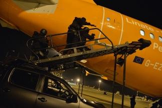GRIFONE 2015 - le forze speciali dell'Esercito durante esercitazione Linate