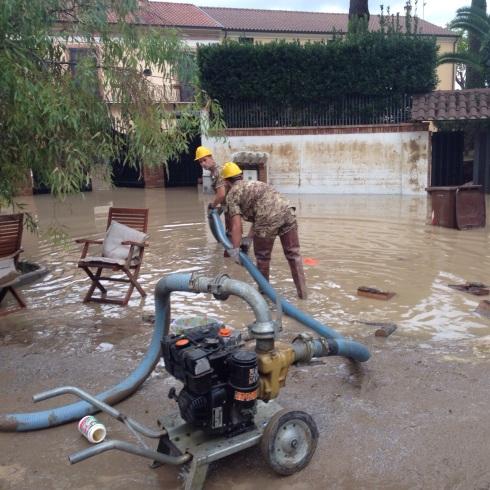 Militari impiegati nelle grandi calamità