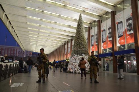 Militari per Strade sicure alla stazione Termini di Roma