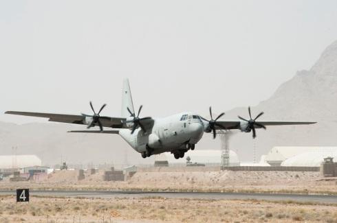 C 130J, Afghanistan