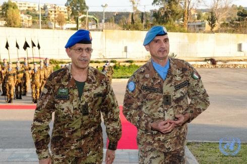 Il capo di SME con il generale Portolano