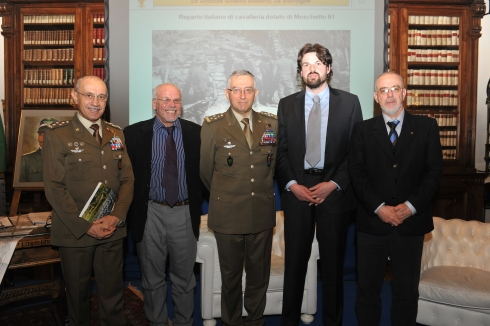 Il generale Graziano il generale Errico e gli autori del libro