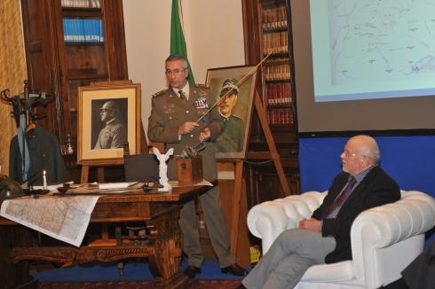 Il moderatore generale di divisione Giuseppenicola Tota