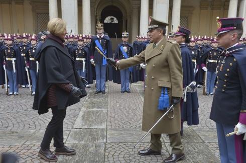 Conferimento del titolo cadetto ad honorem al Ministro