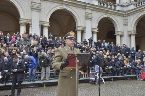 Intervento del capo di Stato Maggiore dell'Esercito, generale Errico