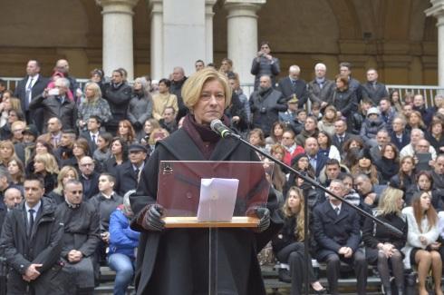 Intervento del ministro Pinotti