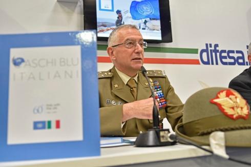Presentazione Libro I Caschi Blu italiani