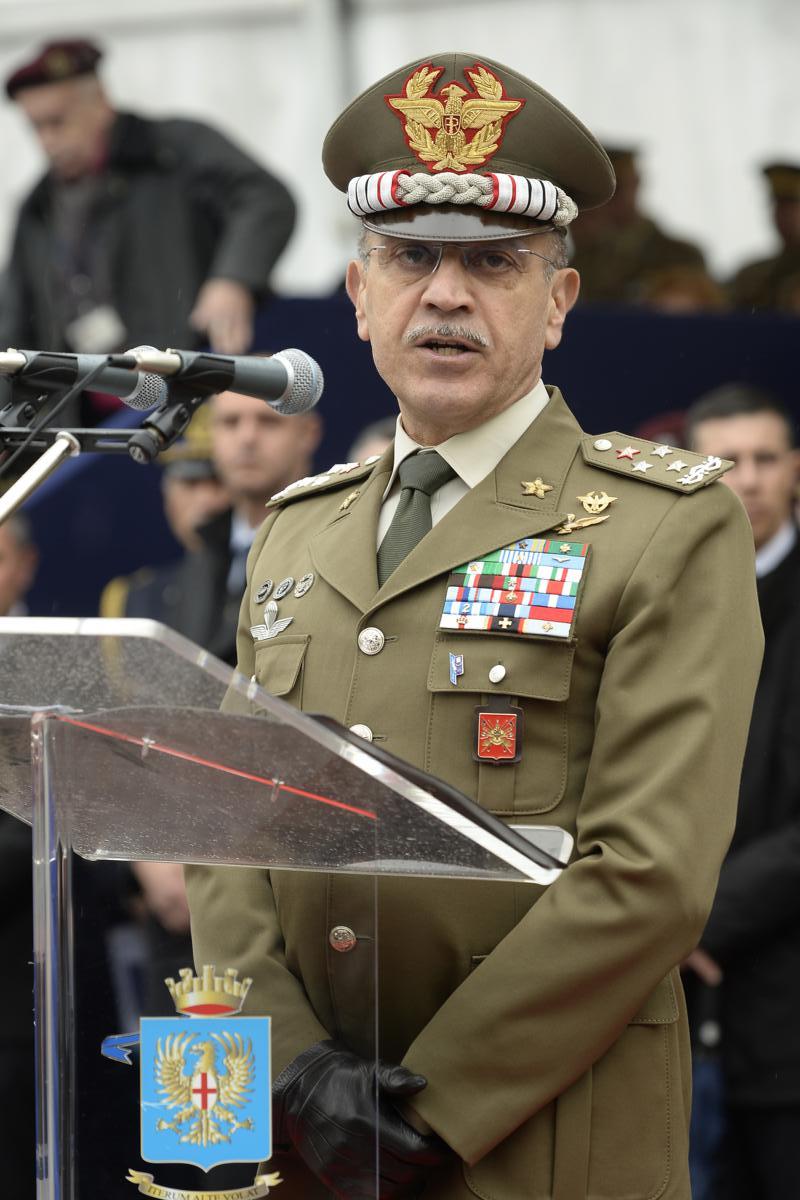 Il Capo di Stato Maggiore Esercito Generale di Corpo d'Armata Danilo Errico