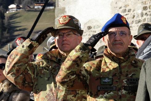 Il Generale Graziano e il Generale Errico