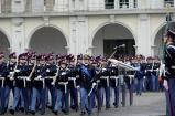 Sfilamento del Reggimento Allievi