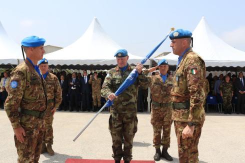 2017-04-27 GRANATIERI AL COMANDO DEL CONTINGENTE ITALIANO IN LIBANO (1)