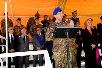 Il Capo di Stato Maggiore Esercito Gen. C.A. Errico